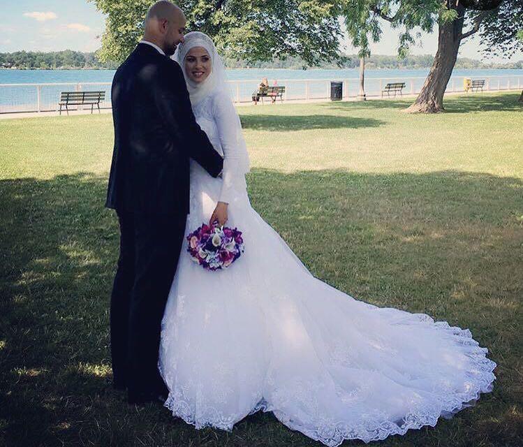 زفاف السيد محمد مالك فحص على العروس الرقيقة ملاك عماد بزي في  وندسور  – كندا