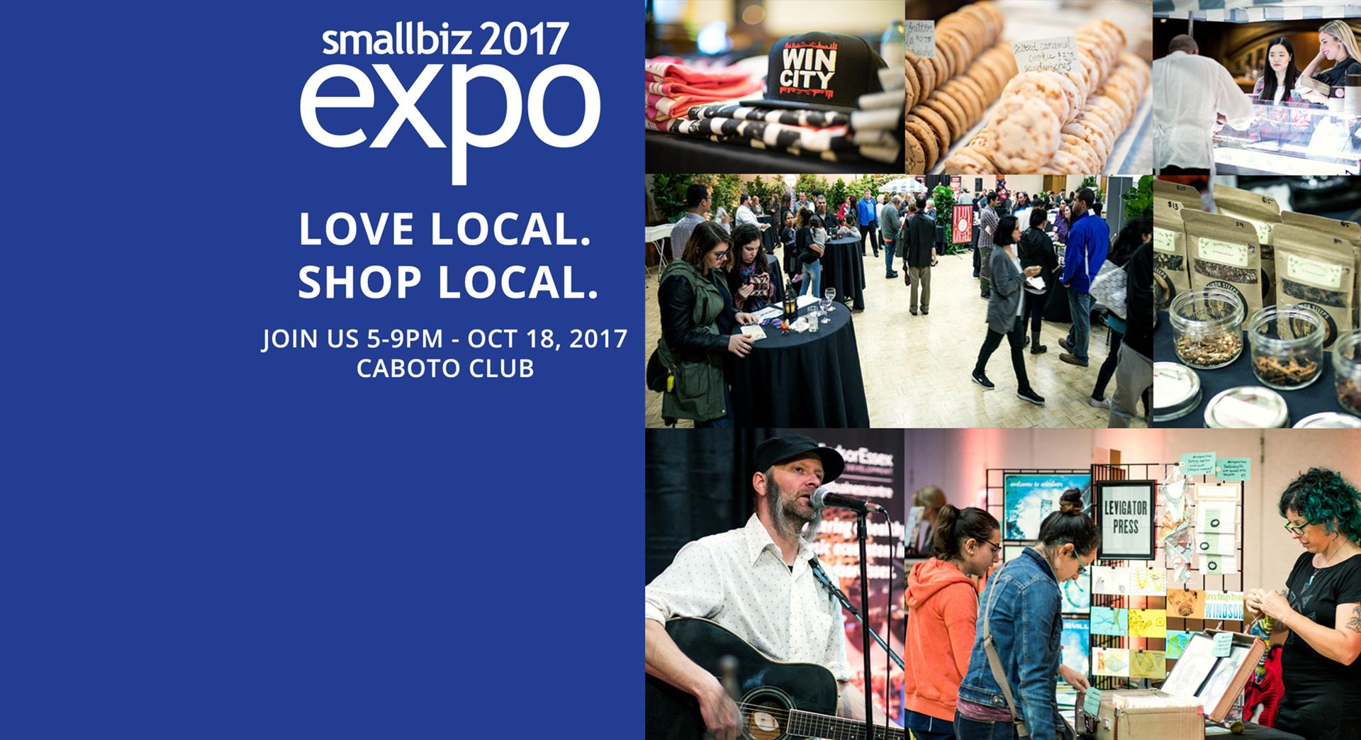 Small Biz Expo 2017 is Wednesday at 5:00 PM     Organized by WindsorEssex Small Business Centre