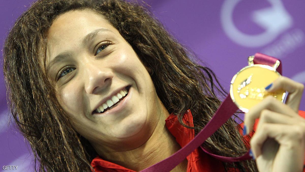 فريدة عثمان.. السباحة المصرية التي دخلت التاريخ