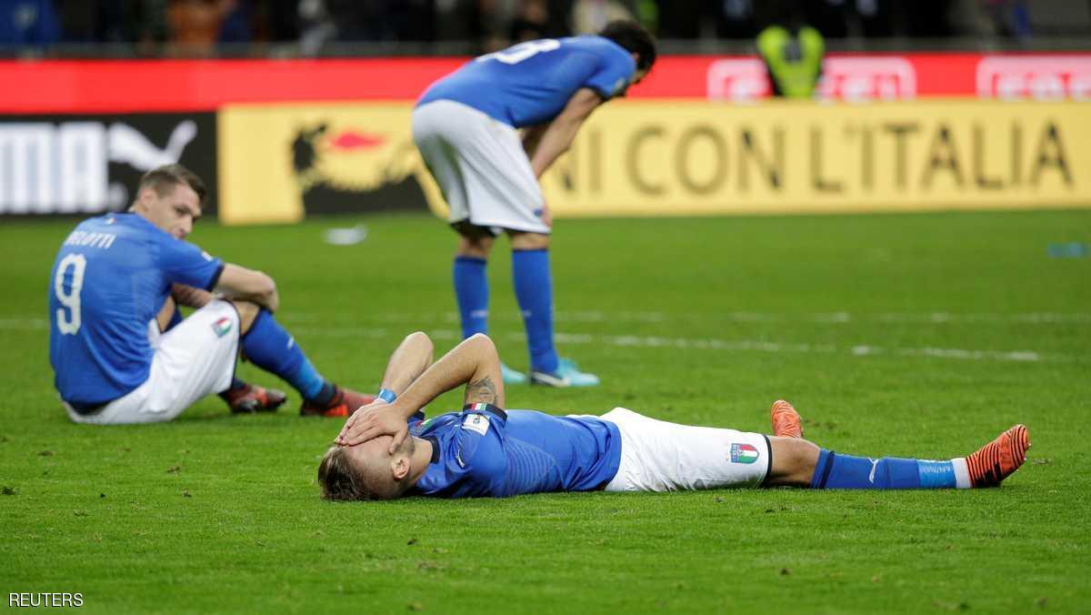 كارثة المونديال.. إيطاليا