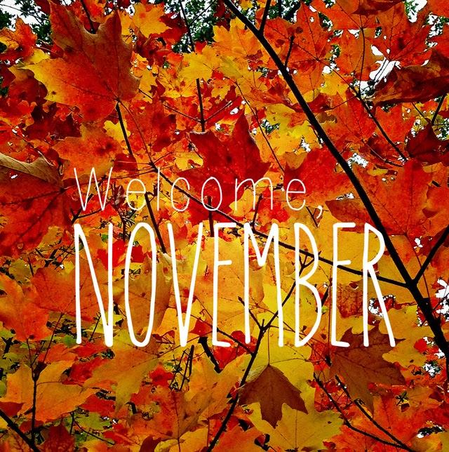 ITS NOVEMBER